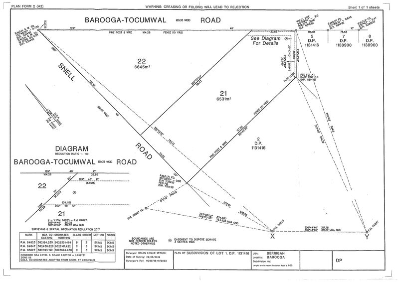 Lot 22 Snell Rd Barooga  NSW  3644